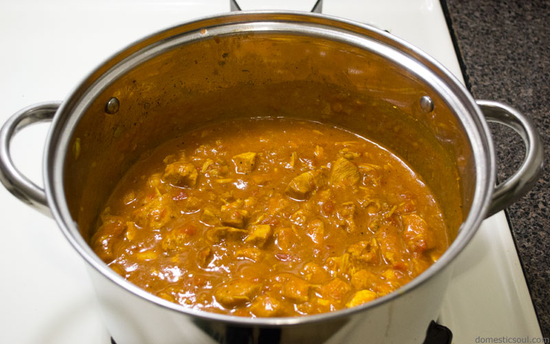 Coconut Curry Recipe from domesticsoul.com