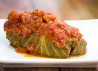 Golabki: Polish Stuffed Cabbage Recipe from domesticsoul.com