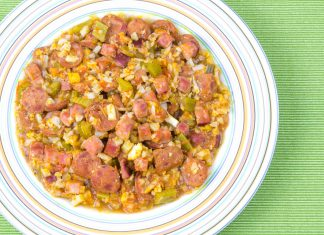 Grain Free Jambalaya Recipe – No rice! from domesticsoul.com