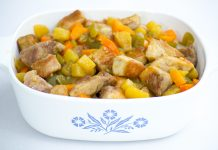 Gluten Free Sweet and Sour Pork Recipe from domesticsoul.com