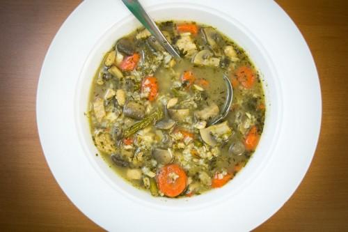 Scarborough Fair Chicken Soup Recipe