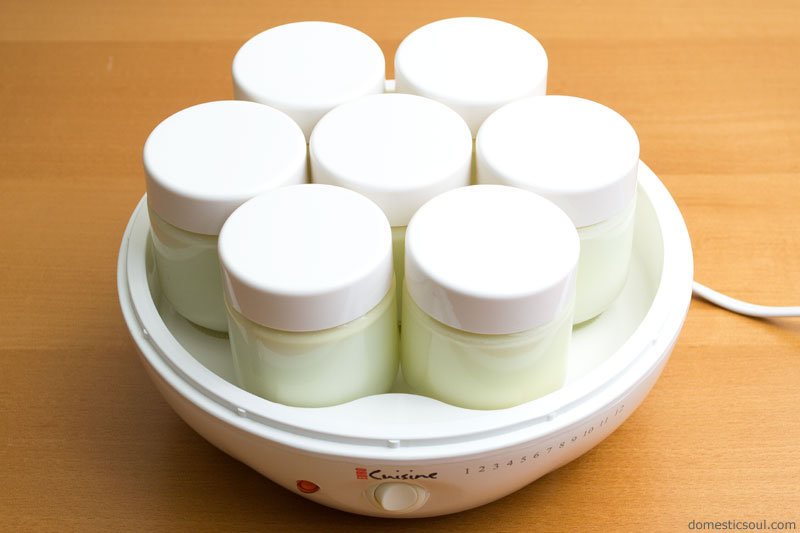 how to make thick yogurt from raw milk