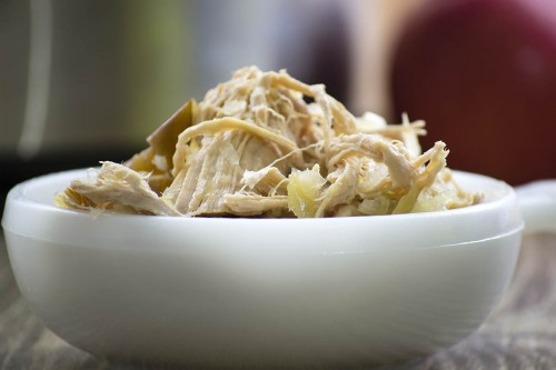 Crockpot Pork and Sauerkraut with Apples