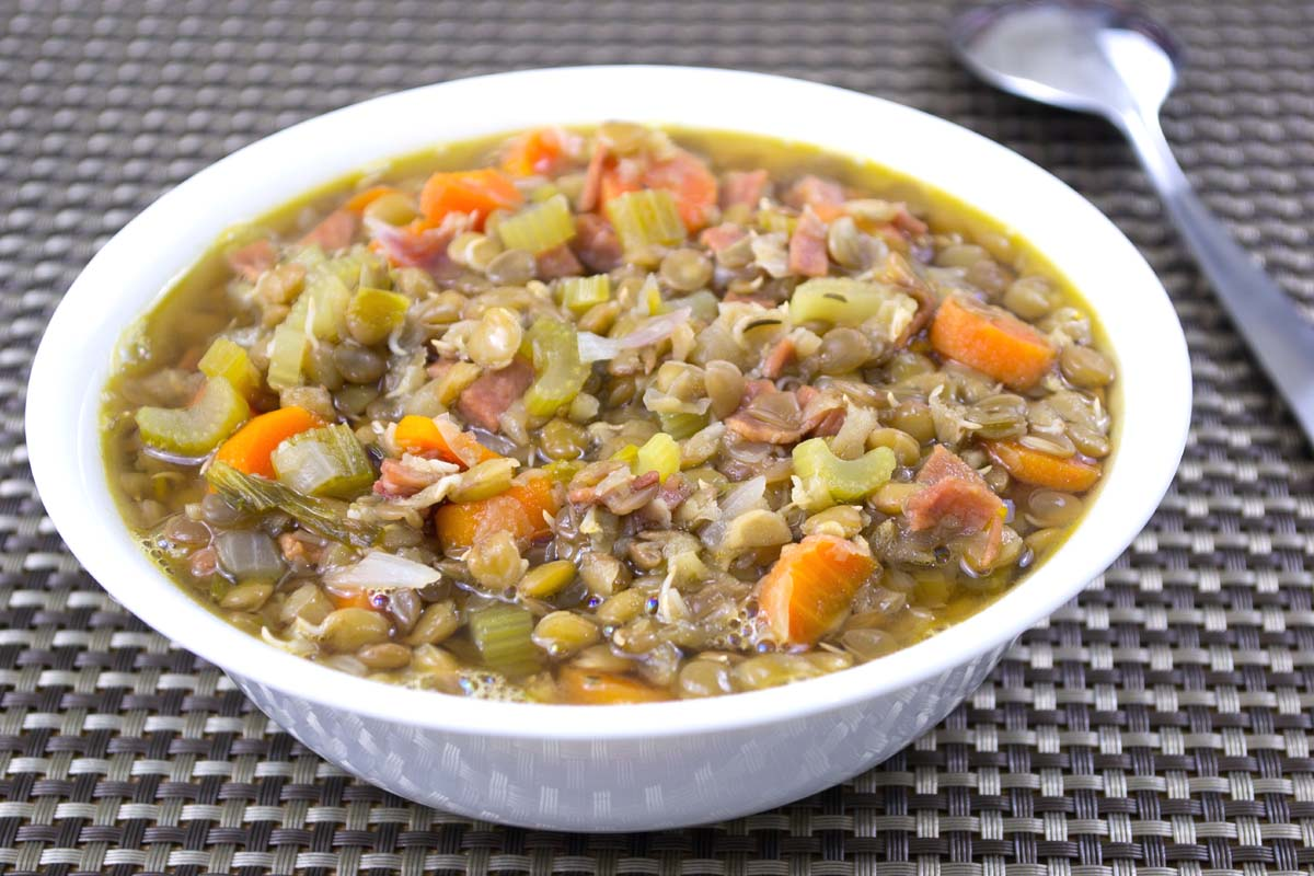 Sprouted Lentil Soup Recipe