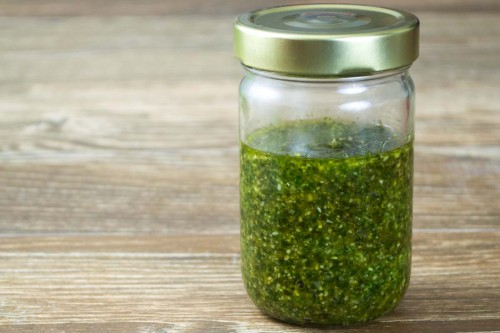 Grandma Soul's Homemade Pesto Sauce