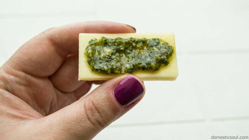 Grandma Soul's Homemade Pesto Sauce Recipe from domesticsoul.com