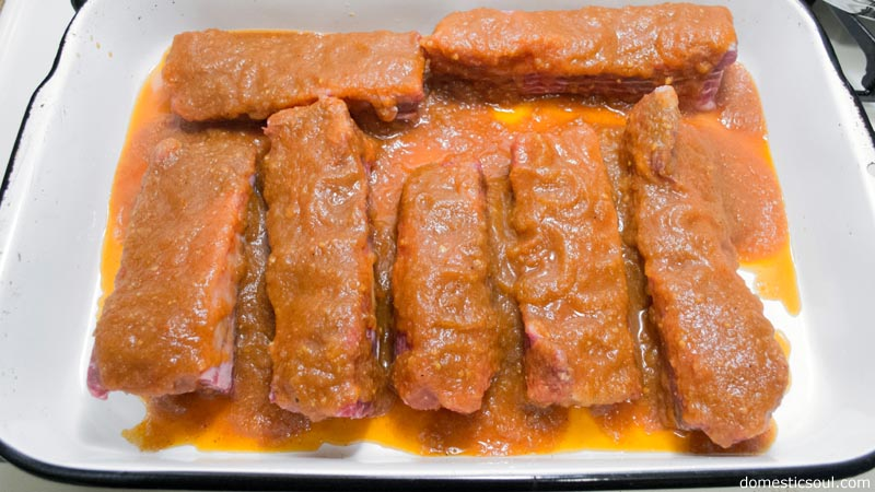 Homemade BBQ Sauce Recipe from domesticsoul.com