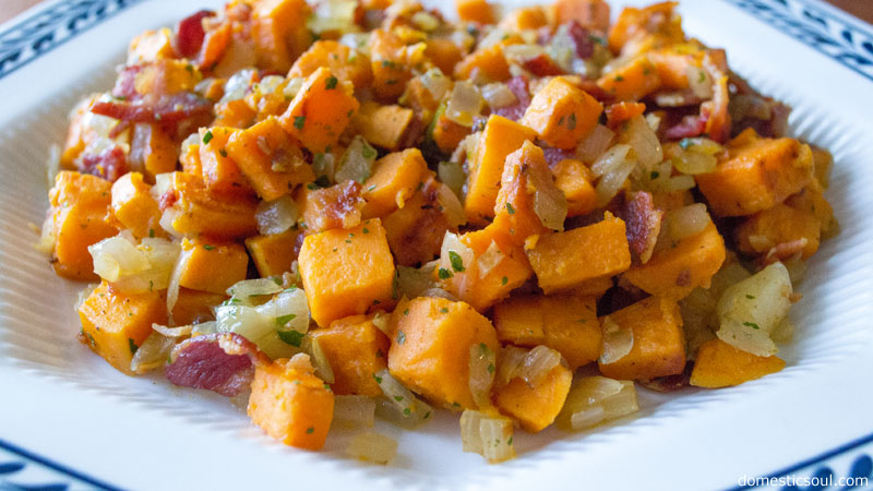 Bacon Sweet Potato Hash Recipe