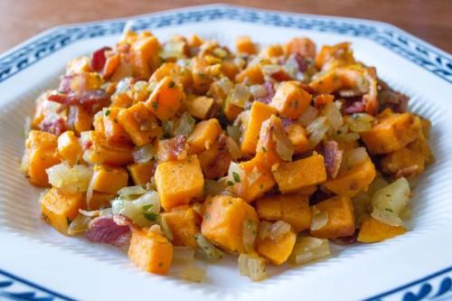 Bacon Sweet Potato Hash Recipe