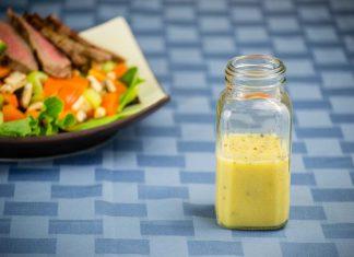 Ginger Dijon Vinaigrette Salad Dressing Recipe from domesticsoul.com