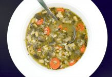 Scarborough Fair Chicken Soup Recipe from domesticsoul.com